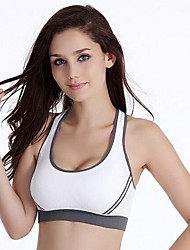 Full Coverage BrasSeamless / Sports Bras / Fixed Straps Cotton / Nylon