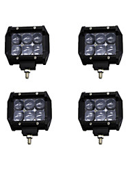 4x 30W LED Work Light Bar Offroad 12V 24V ATV Spot Offroad for  Truck 4x4 UTV