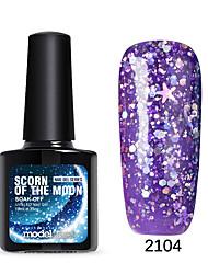 Esmalte de Uñas Gel UV 10 1 Brillante / Esmalte Gel UV de Color / Goma Empapa de Larga Duración