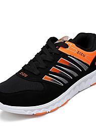 Men's Sneakers Spring / Fall Comfort Tulle Casual Flat Heel  Blue / Yellow Walking