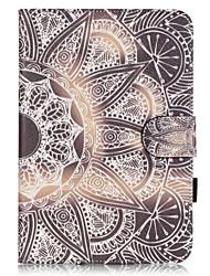 Pour Porte Carte / Avec Support / Motif Coque Coque Intégrale Coque Other Flexible Cuir PU Apple iPad Mini 4