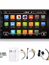 4 Kerne 2 din 7 '' Android 4.4 Auto-DVD-Spieler gps navi Auto-Stereo-Radio in dash 3g wifi bt usb / sd Universal-Player