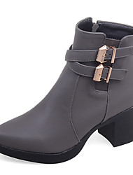 Women's Boots Fall / Winter Fashion Boots / Motorcycle Boots / Pointed Toe Office & Career / Dress / Casual Platform