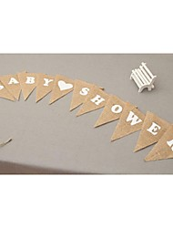 Wedding Party Accessories-1Piece/Set Costume Accessories Tag Jute Rustic Theme Other Non-personalised Brown