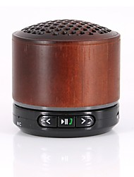 Bluetoot Wooden Speaker Wireless MP3 Music Playback Stereos Built-in FM Radio Handsfree Support TF Card