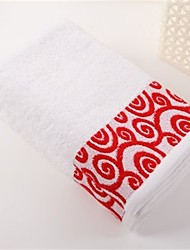 "1 PC Full Cotton Hand Towel 19"" by 35"" Super Soft Strong Water Absorption Capacity Floral Pattern"