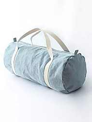 Gym Bag / Yoga Bag Leisure Sports / Yoga Waterproof / Waterproof Zipper / Wearable Unisex Dark Blue / Light Blue Denim