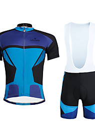 PALADIN® Cycling Jersey with Bib Shorts Men's / Unisex Short Sleeve BikeBreathable / Quick Dry / Ultraviolet Resistant / Compression /