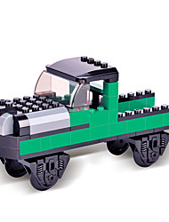 Building Blocks For Gift  Building Blocks Model & Building Toy Train Plastic Above 6 Black / Green Toys