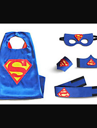 Child Superman Cape Halloween kids cape set