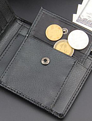 Men Fashion Black Wallet Coin Purses Casual Wallets