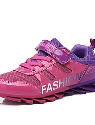 Garçon-Décontracté-Bleu / Violet / Rouge-Talon Plat-Confort-Sneakers-Tulle