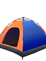 3-4 persons Tent Single Automatic Tent One Room Camping Tent >3000mmMoistureproof/Moisture Permeability Waterproof Breathability