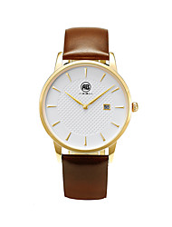 AIBI® Men's Fashion Watch Water Resistant/Water Proof Charles Florida Silver Light Coffee Wrist Watch For Men Cool Watch Unique Watch With Watch Box