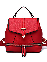 Women's Latest Fashion Ladies Bags Leather  Cowhide  Backpack 5 Colours