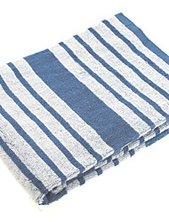 "1PC Full Cotton Bath Towel 23"" by 47"" Stripe Pattern Multicolor Super Soft Strong Water Absorption Capacity"