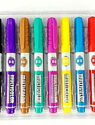couleur stylo effaçable tête de stylo tableau blanc pop facile à essuyer l'eau stylo stylo tableau blanc