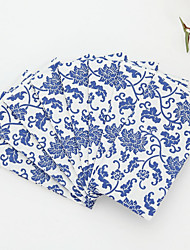 100% virgin pulp 50pcs Blue Wedding Napkins