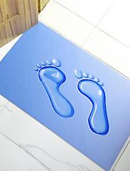 Коврики для ванны-синий-Полиэстер-75 x 45