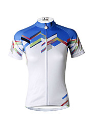 PALADIN® Cycling Jersey Women's Short Sleeve BikeBreathable / Quick Dry / Ultraviolet Resistant / Reflective Strips / Back Pocket /