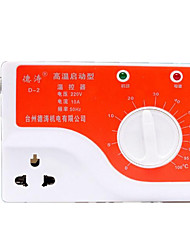 thermostat réglable (plug in ac-220v; plage de température: 0-100 ℃)