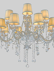 Maximum 60 W Modern/Contemporary / Traditional/Classic / Country / Globe / Drum / Island Crystal Others Glass Chandeliers