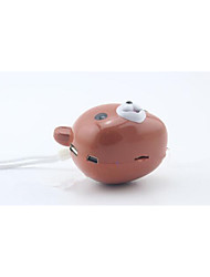 Cartoon Sound Card Mobile Phone Audio ,Story Machine Portable Mini Speaker Radio Computer Mini Stereo Sound