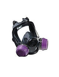 Dual Filter Cartridge Rubber Gas Mask