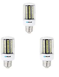 12W E14 B22 E26/E27 Ampoules Maïs LED B 136 SMD 5733 1000 lm Blanc Chaud Blanc Froid Décorative AC 100-240 V 3 pièces