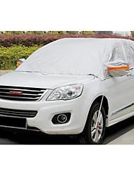 coudre aluminium automobile couverture semi-capot capot d'isolation de l'automobile sun rain tout autour de la couverture de voiture