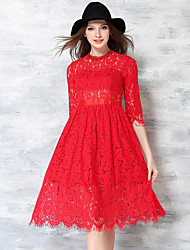 Maxlindy Women's Going out /Party/Cocktail / Vintage / Street chic / Sophisticated  Swing Pin up Dress