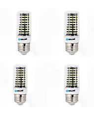 15W E14 G9 GU10 B22 E26/E27 Ampoules Maïs LED B 80 SMD 5733 1200 lm Blanc Chaud Blanc Froid Décorative AC 100-240 V 4 pièces