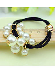 Women Pearl Hair Tie,Cute