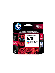 Hp 678 Print Cartridge Support Hp2648 / 1518/2515 Inkjet Printer Printed Pages150 Color / Black 480<br>