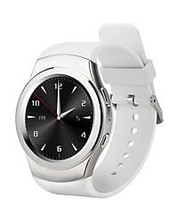 s18 avec carte de fréquence cardiaque intelligente support de montre apple android bluetooth 3.0 a soulevé ma main sur l'écran lumineux