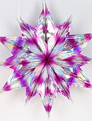 Polyethylene Wedding Decorations-1Piece/Set Ornaments Christmas Rustic Theme Pink / Green / Purple