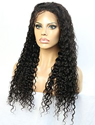 Beautiful Deep Curly 8-24 inch Human Hair lace Front/Full Lace Wig with Natural Hairline
