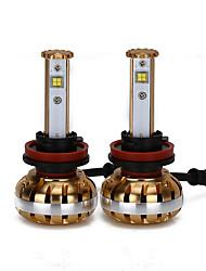 liancheng® 60w 7800lm 9 ~ 32v haute luminosité LED phare kit-h8 / h9 / h11 pour la voiture, hors route, UTV, atv