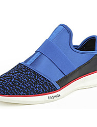 Women's Loafers & Slip-Ons Spring / Summer Round Toe / Flats PU / Tulle Casual Flat Heel Others Blue / Gray / Blac