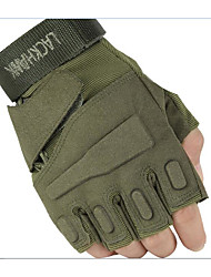 le faucon noir gants demi extérieur moto gants tactiques anti-dérapantes