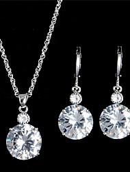 Schmuck Halsketten Ohrringe Halskette / Ohrringe Braut-Schmuck-Sets Set Modisch Vintage Einstellbar Hochzeit Party Alltag NormalKrystall