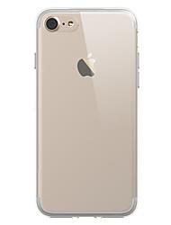Per retro Trasparente Tinta unita TPU Morbido Copertura di caso per Apple iPhone 7 Plus / iPhone 7