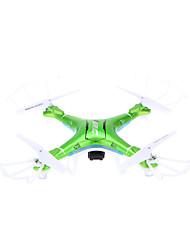 Drone JJRC H5P 4 Canali 6 Asse 2.4G Con videocamera HD da 2.0MP Quadricottero RcIlluminazione LED / Tasto Unico Di Ritorno / Controllo Di