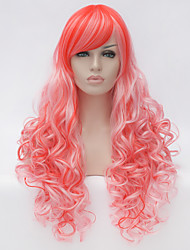 Light purple.Cosplay wig wind Lolita Lolita multi color gradient wig daily wig  Synthtic wigs