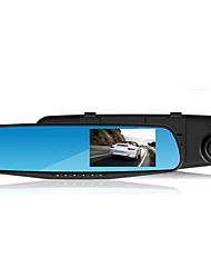 Drive Recorder Single Lens 4.3 Inch HD 1080P Rear View Mirror Loop Recording