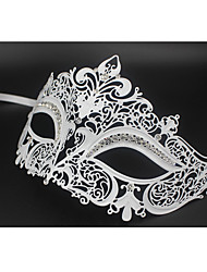 Sexy Venetian Mask Masquerade Rhinestone Laser Cut  Metal Party3003A2