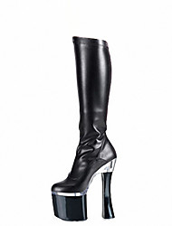 Women's Heels Fall / Winter Heels / Platform / Fashion Boots Patent Leather  / Party & Evening / Dress /Club sexy boots