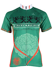 Sports Cycling Jersey Women's Short Sleeve Bike Quick Dry / Ultraviolet Resistant / Sweat-wicking Tops Coolmax Floral / BotanicalSummer /