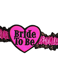 Wedding Party / Birthday / Valentine Party Favors & Gifts-1Piece/Set Costume Accessories Ribbons Satin Heart-shaped