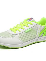 Розовый / Оливковый / Тёмно-синий-Женская обувь-Для занятий спортом-Тюль-На плоской подошве-На плокой подошве-На плокой подошве